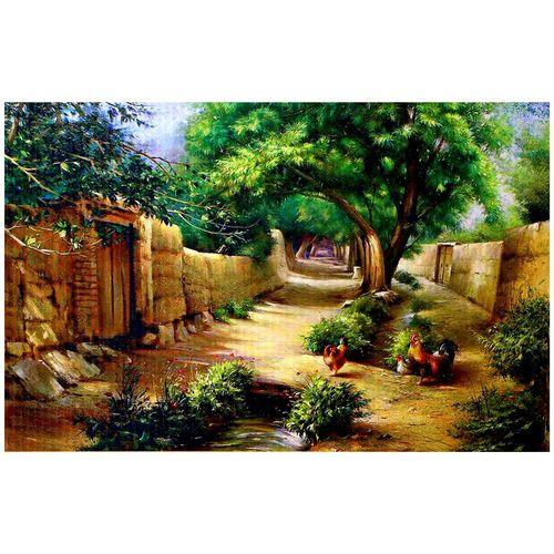 پازل 1000 تکه ترنم طرح کوچه باغ  به همراه یک عدد کیسه پازل راونزبرگر