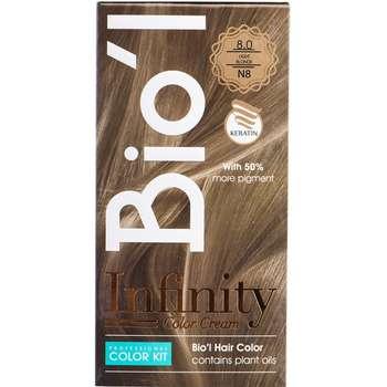 کیت رنگ موی Bio'l شماره 8.0 بلوند روشن طبیعی