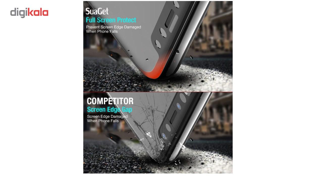 محافظ صفحه نمایش تمام چسب شیشه ای لاین مدل 5D مناسب برای گوشی اپل آیفون X main 1 3