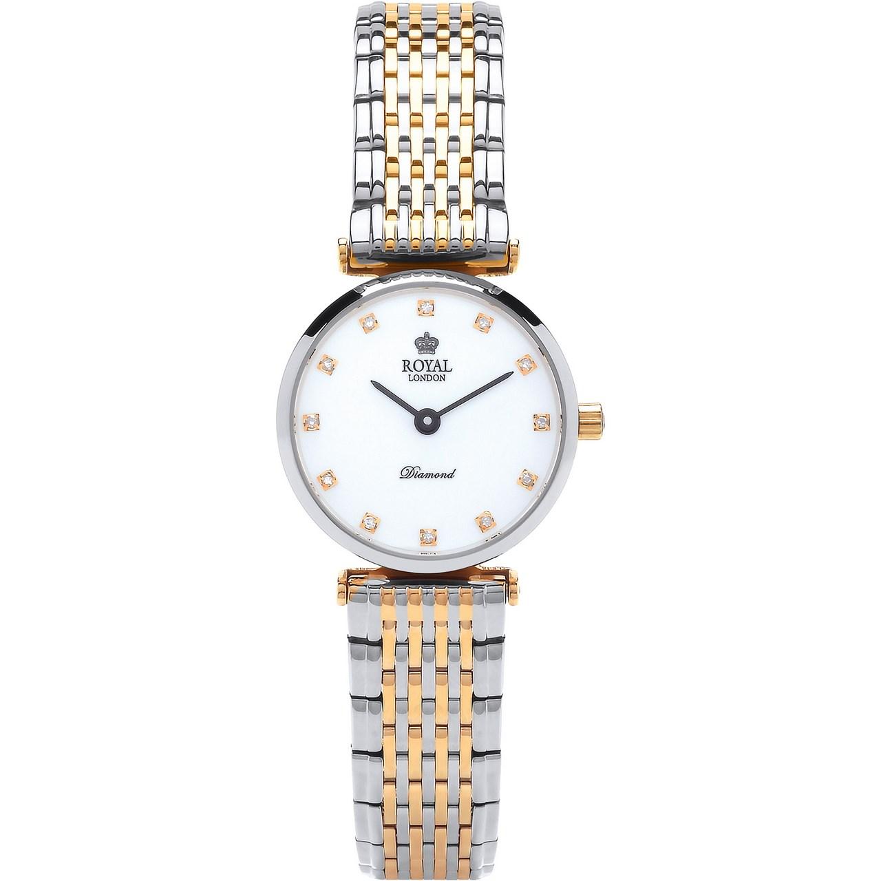 ساعت مچی عقربه ای زنانه رویال لندن مدل RL-21340-06