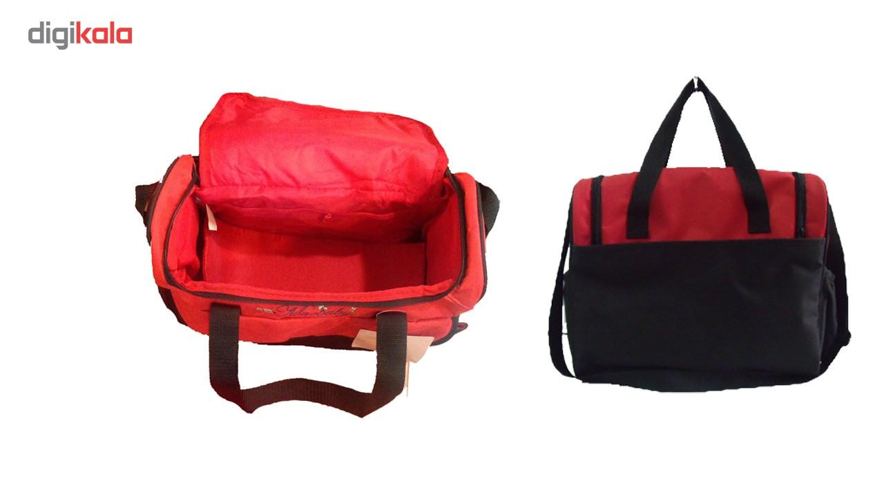 کیف حمل لوازم کودک مک بیبی مدل بلوتی 4223