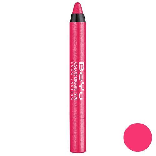 رژ لب مدادی 2 کاره بی یو مدل Color Biggie for Lip and More 270