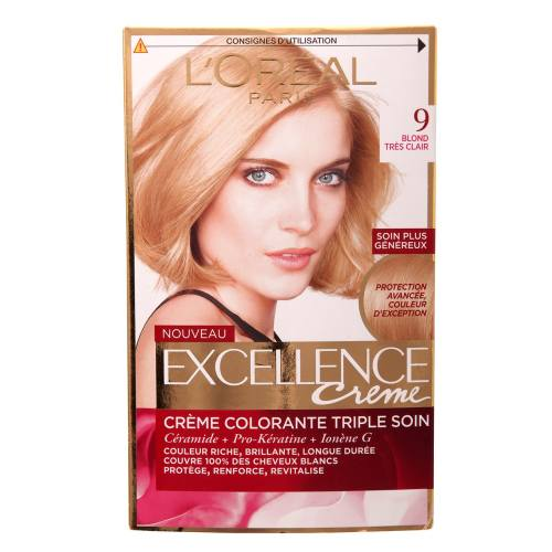 کیت رنگ مو لورآل شماره 9 Excellence