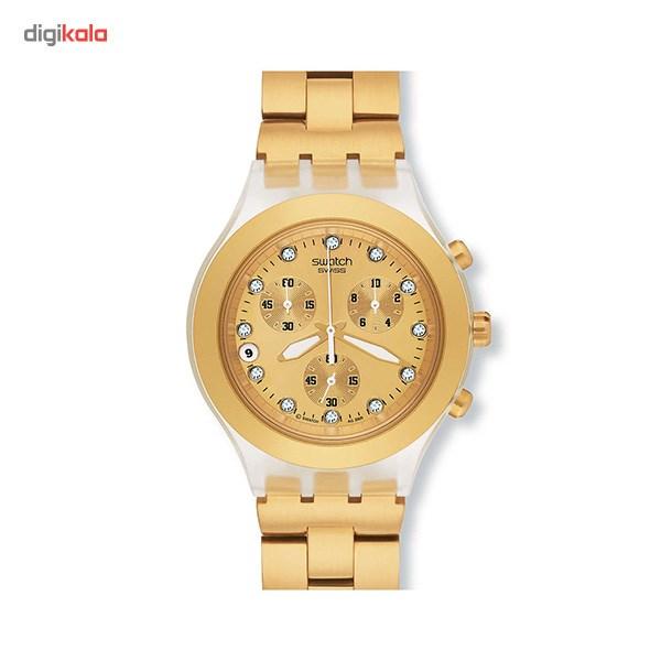 خرید ساعت مچی عقربه ای مردانه سواچ SVCK4032G