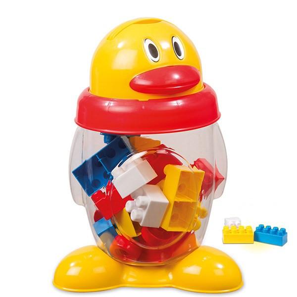 بلوکهای ساختنی 20 تکه دولو  مدل Penguin Deluxe Blocks کد 5044