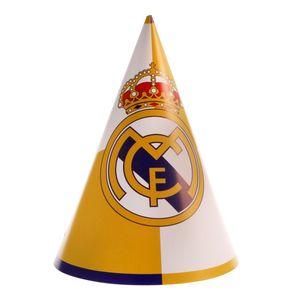کلاه ستاره رنگارنگ مدل رئال مادرید بسته 10 عددی