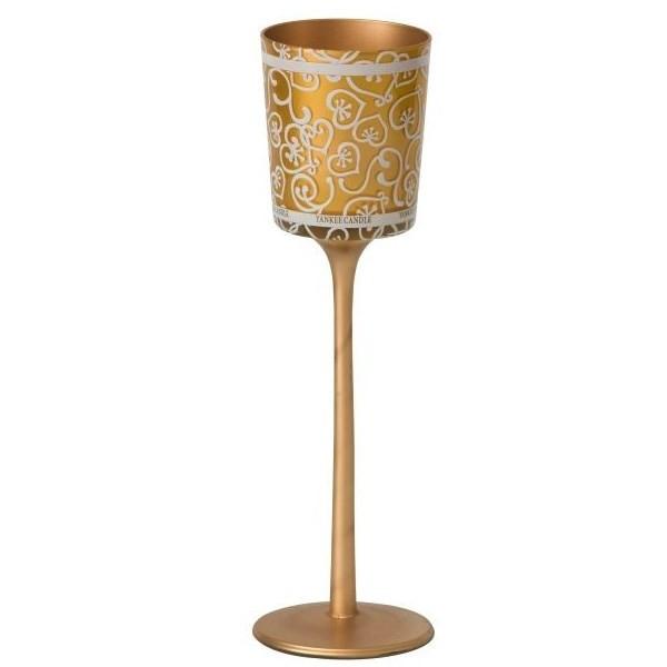 جاشمعی ینکی کندل مدل جشن و پایکوبی با طرح طلا