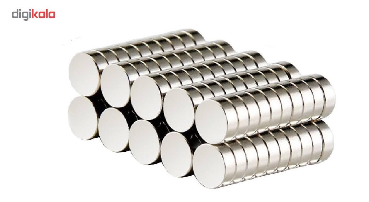 آهن ربای نیودیمیوم مدل دیسکی 5x2 بسته 100 عددی main 1 1
