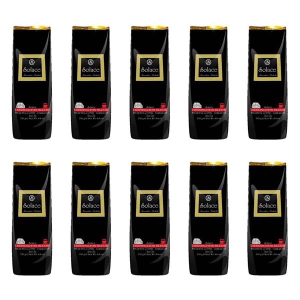 قهوه سولیس مدل KENSINGTON WHOLE BEAN DARK ROAST مجموعه 10 عددی
