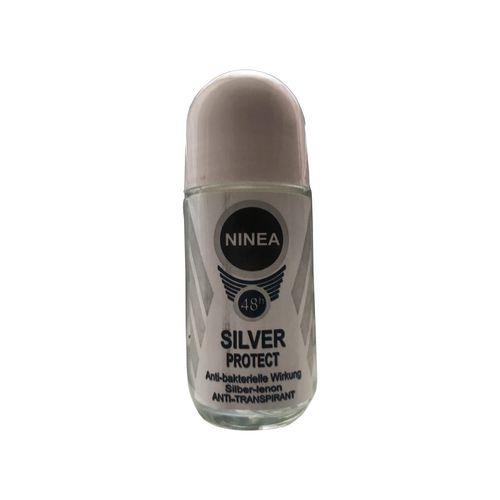 رول ضد تعریق مردانه نینا مدل Silver Protect حجم 50 میلی لیتر
