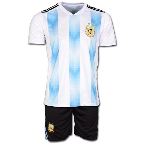 پیراهن و شورت تمرینی تیم آرژانتین مدل Home-2018
