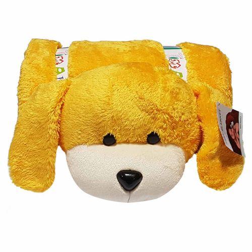 پتو نوزادی مدل سگ کدA03
