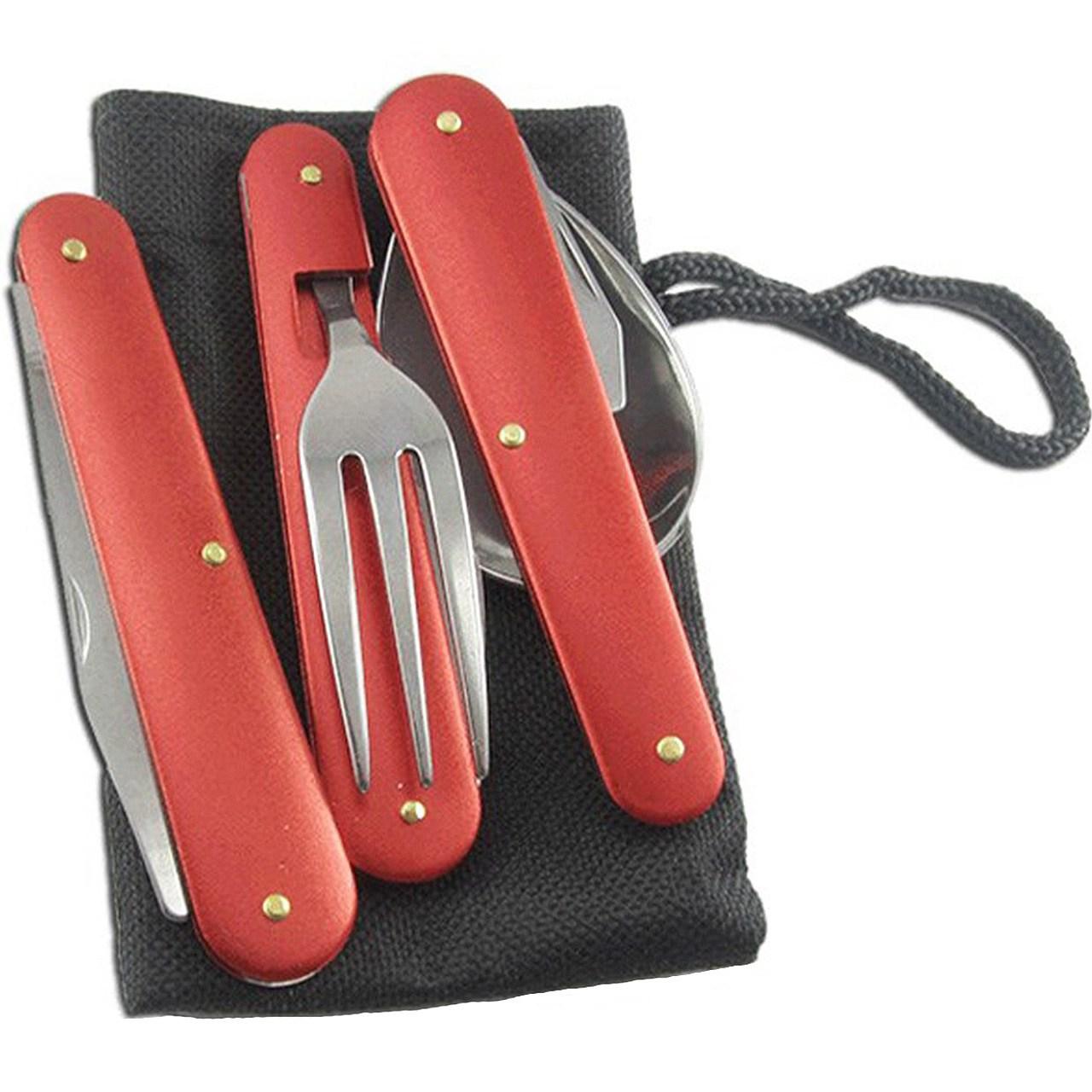 ست قاشق، چنگال و چاقوی سفری