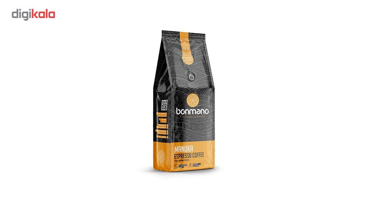 قهوه اسپرسو بن مانو مدل مانوکا 250 گرمی main 1 1