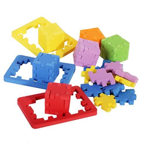 پازل سه بعدی  آیکیوب مدل Star بسته 6 عددی