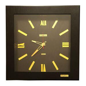 ساعت دیواری پالیزی مدل مربع 55 کد 2912