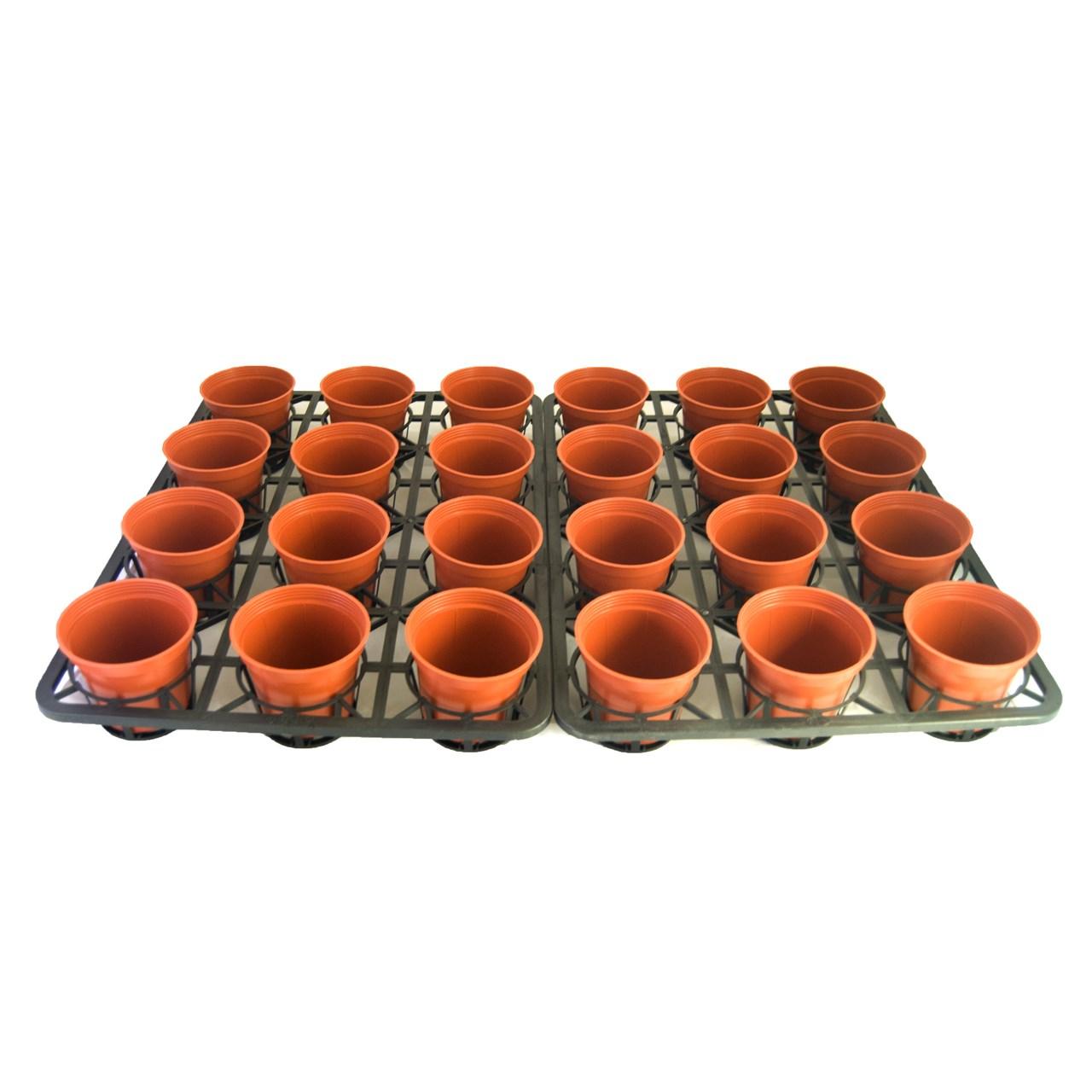 ست گلدان جی تی تی  مجموعه 24 عددی