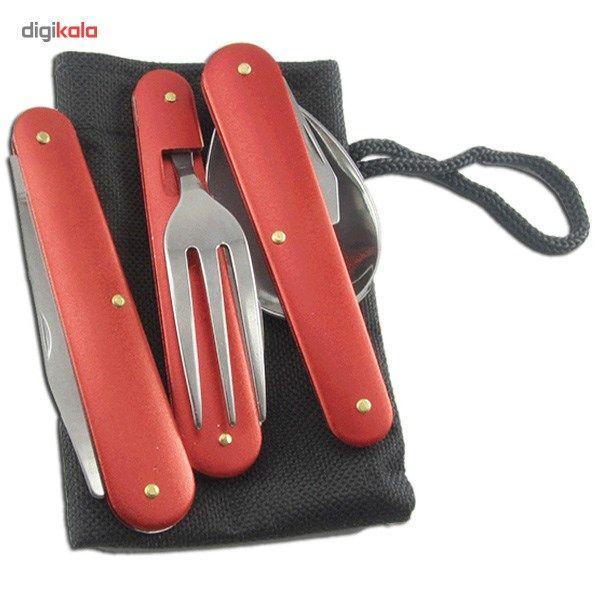 ست قاشق، چنگال و چاقوی سفری main 1 1