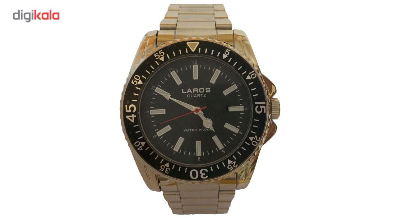 خرید ساعت مچی عقربه ای مردانه لاروس مدل No 0917-80105
