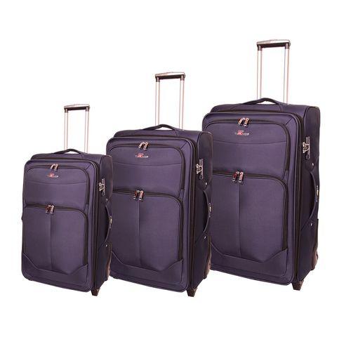 مجموعه سه عددی چمدان مدرن کیف پارسیان مدل Type Sland