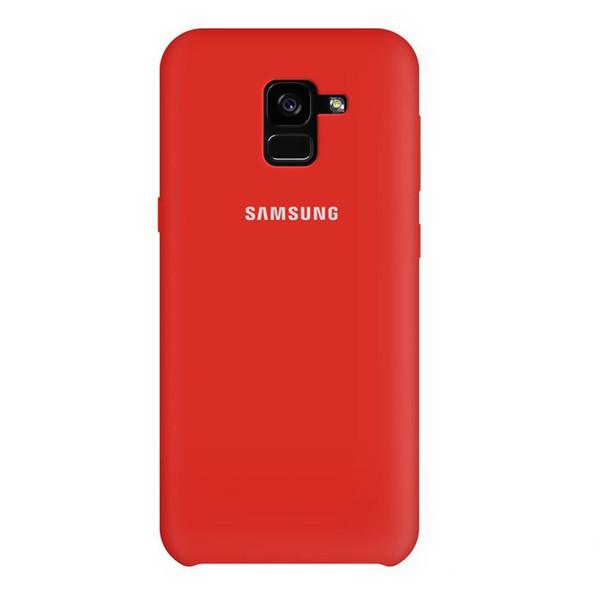 کاور سیلیکونی  مناسب برای گوشی موبایل سامسونگ  مدل A8 2018 و A5 2018