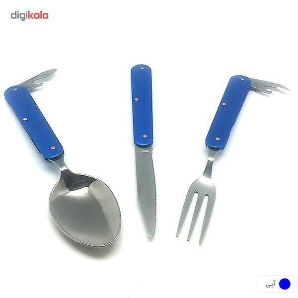 ست قاشق، چنگال و چاقوی سفری main 1 5