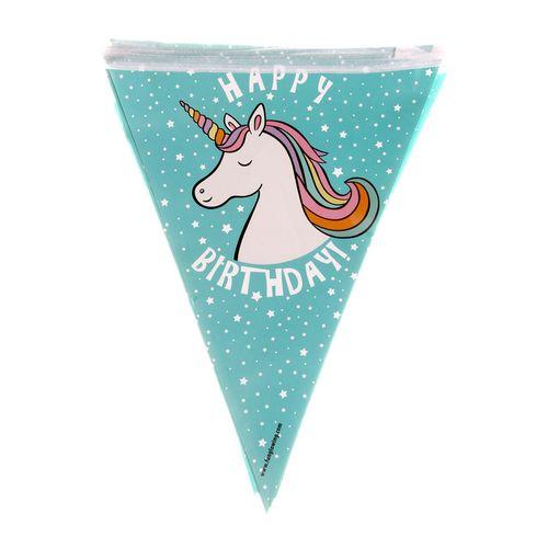 ریسه  ستاره رنگارنگ مدل اسب تک شاخ