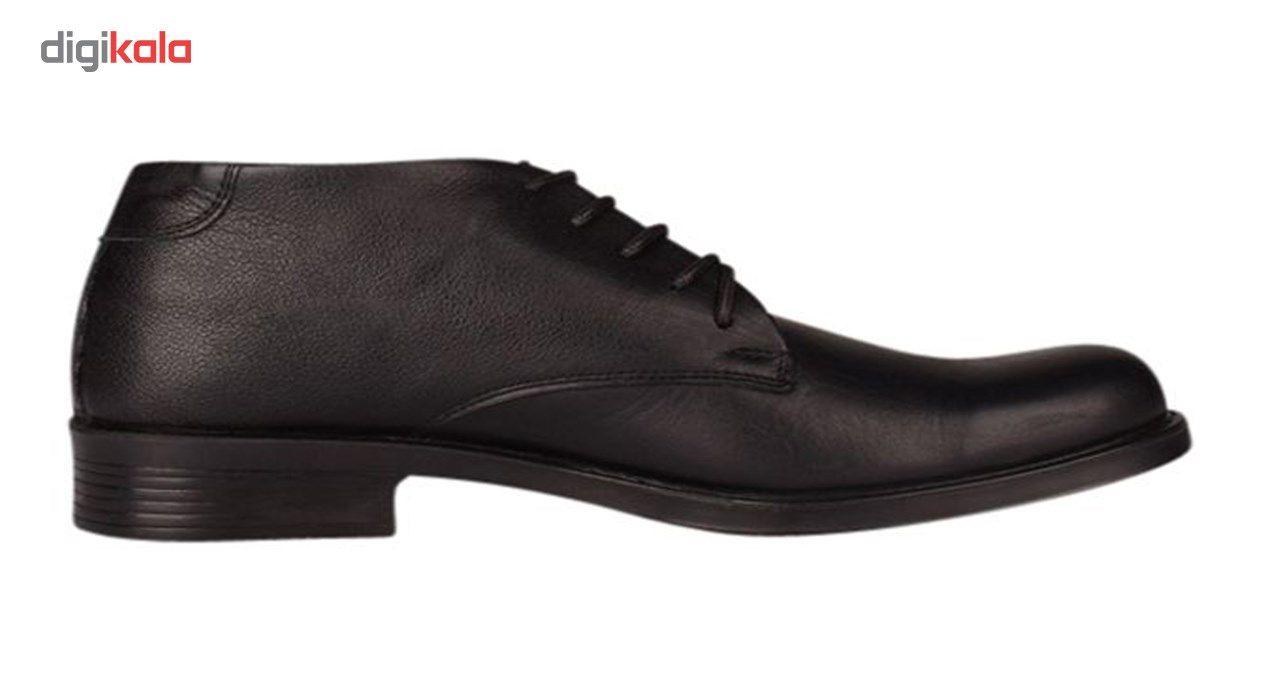 کفش چرم مردانهمهاجر مدل M24m