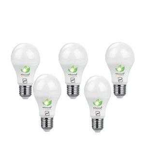 لامپ ال ای دی حبابی 5  وات آینده   بسته 5 عددی پایه E27