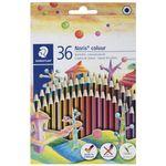 مداد رنگی 36 رنگ استدلر مدل  Noris Colour185CD36 thumb