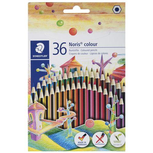 مداد رنگی 36 رنگ استدلر مدل  Noris Colour185CD36