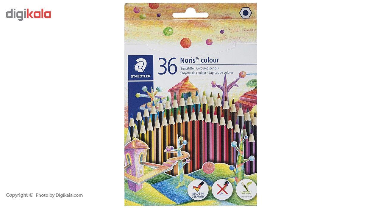 مداد رنگی 36 رنگ استدلر مدل  Noris Colour185CD36 main 1 1