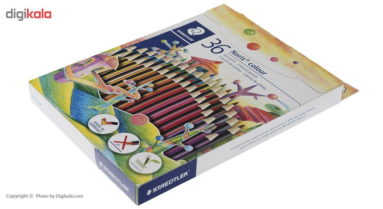 مداد رنگی 36 رنگ استدلر مدل  Noris Colour185CD36 main 1 2
