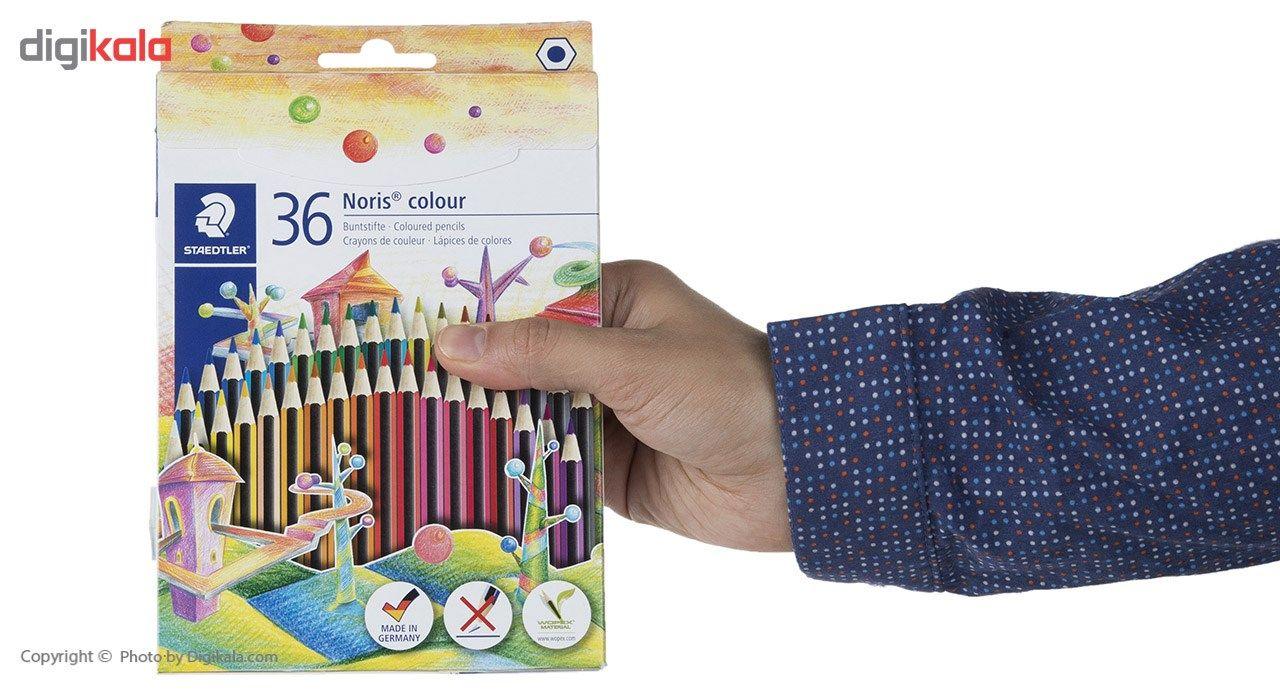 مداد رنگی 36 رنگ استدلر مدل  Noris Colour185CD36 main 1 3