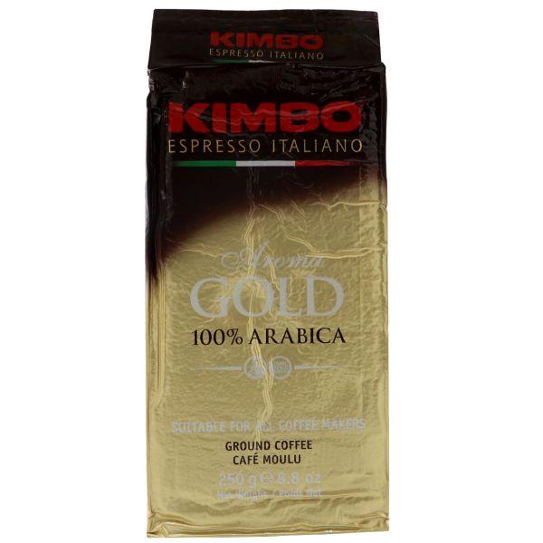 بسته قهوه کیمبو مدل Gold حجم 250 گرم