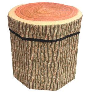 ارگانایزر و صندلی هوم استایل طرح تنه درخت