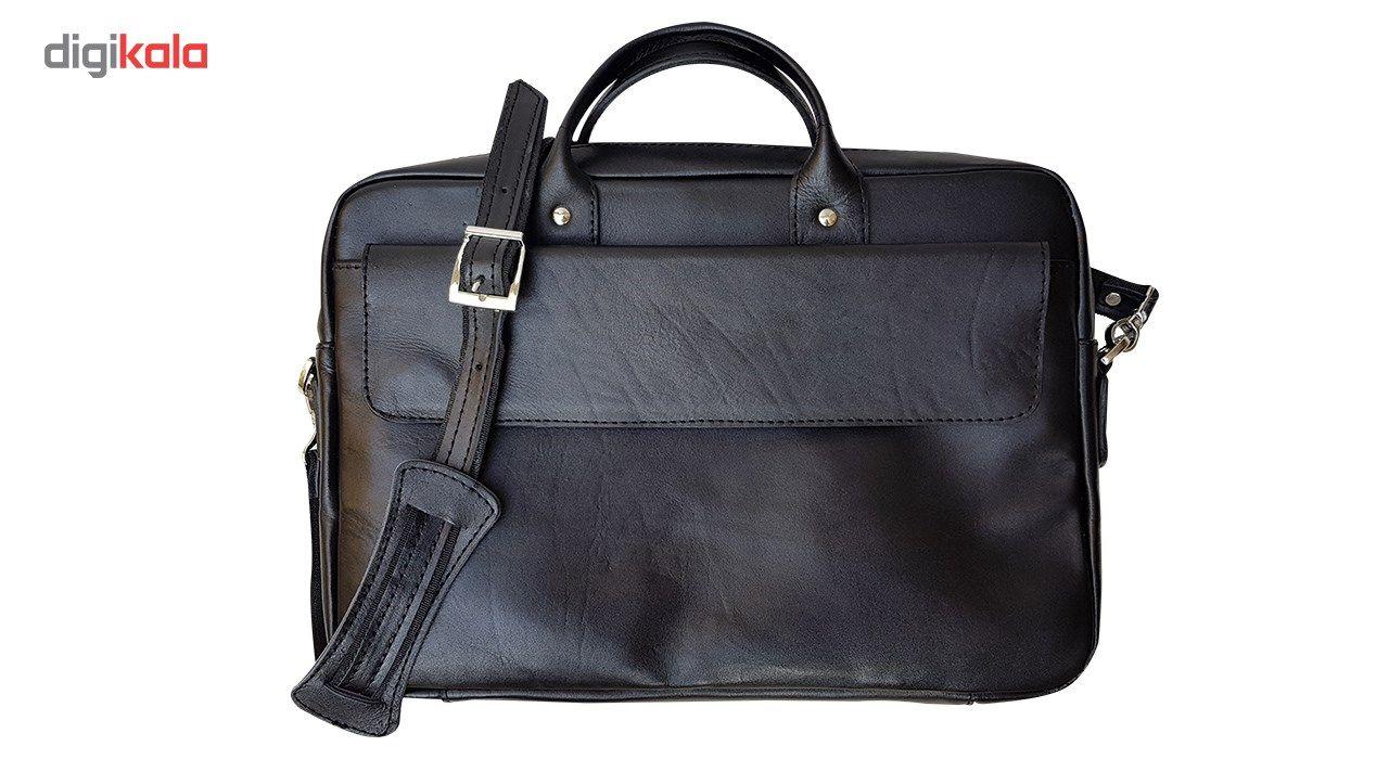 کیف چرم دستی مدل MENDOZA main 1 1