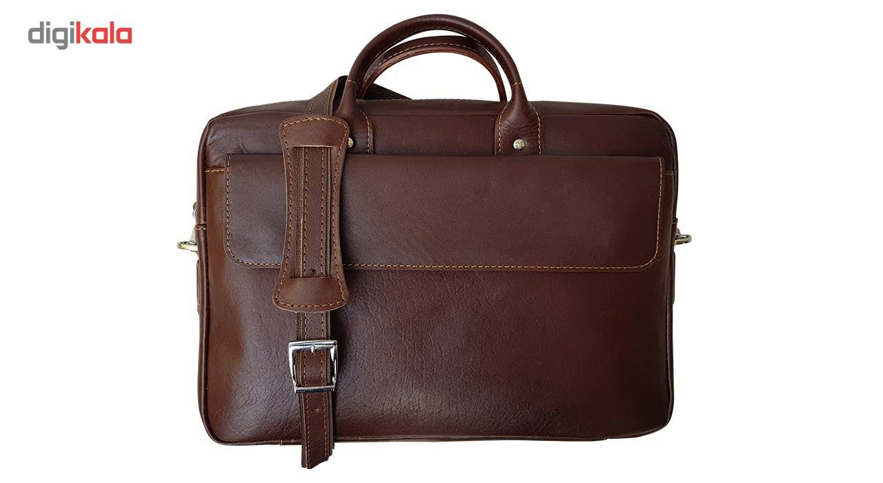 کیف چرم دستی مدل MENDOZA main 1 2
