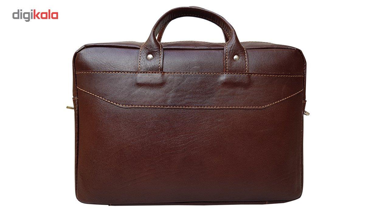 کیف چرم دستی مدل MENDOZA main 1 4