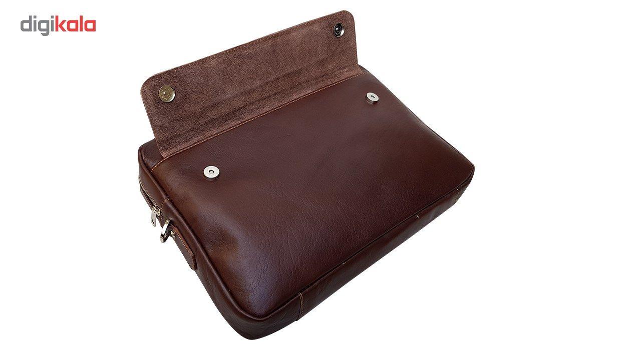 کیف چرم دستی مدل MENDOZA main 1 5