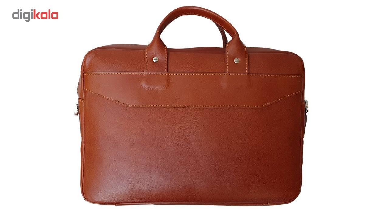 کیف چرم دستی مدل MENDOZA main 1 8