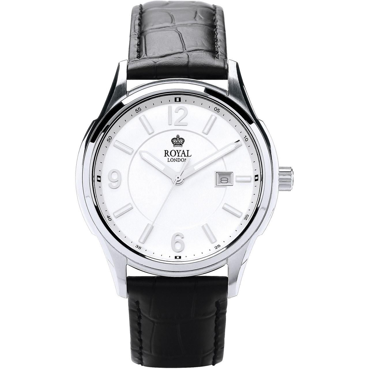 ساعت مچی عقربه ای مردانه رویال لندن مدل RL-41222-01