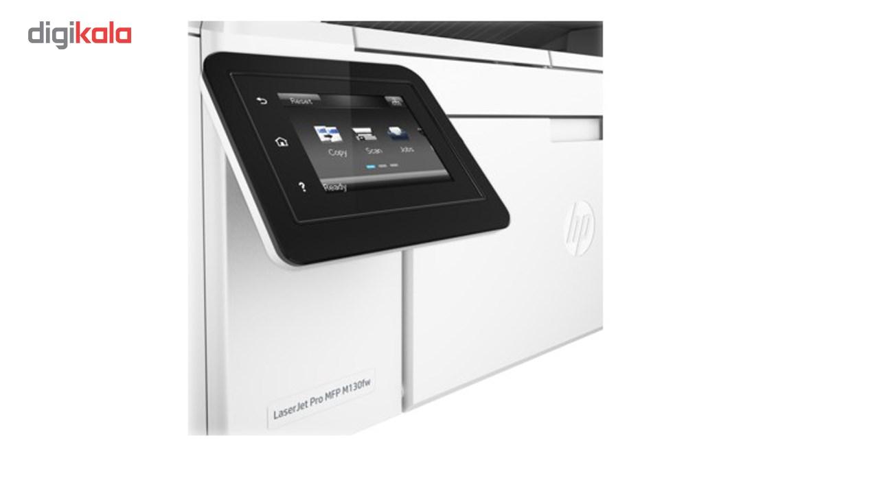 قیمت                      پرینتر چندکاره لیزری اچ پی مدل LaserJet Pro MFP M130fw با گوشی اورجینال