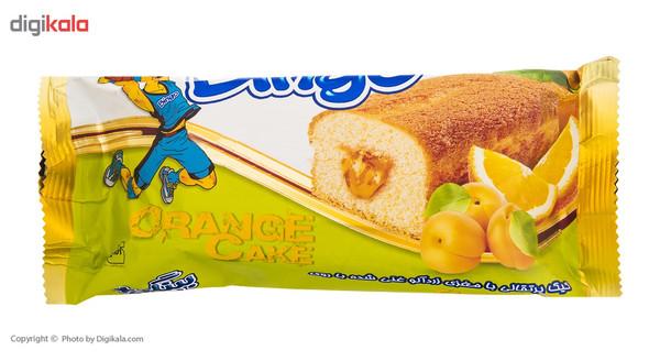 کیک پرتقالی غنی شد با روی بینگو مقدار 70 گرم