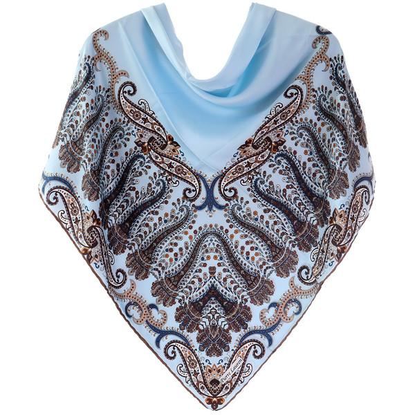 روسری ساتن ابریشم دست دوز روژند کد 16_tp-3236