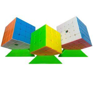مکعب روبیک مویو مدل Moyu cube 345 بسته سه عددی