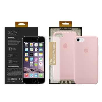 کاور سومگ مدل سیلیکونی مناسب برای گوشی موبایل اپل آیفون 7 /8 به همراه محافظ صفحه نمایش