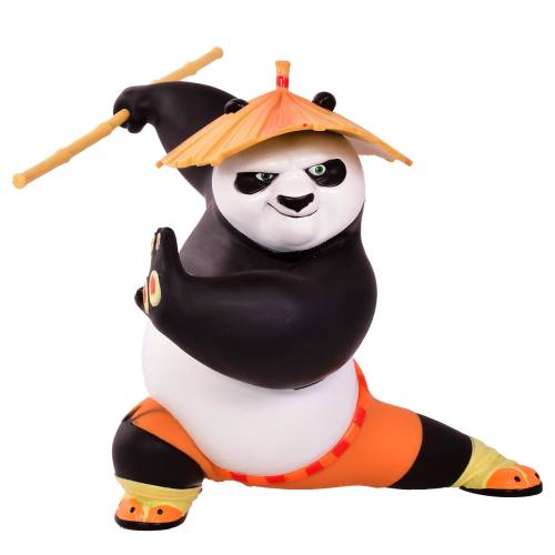 اکشن فیگور پاندای کونگ فوکار مدل Kong Fu Panda 3