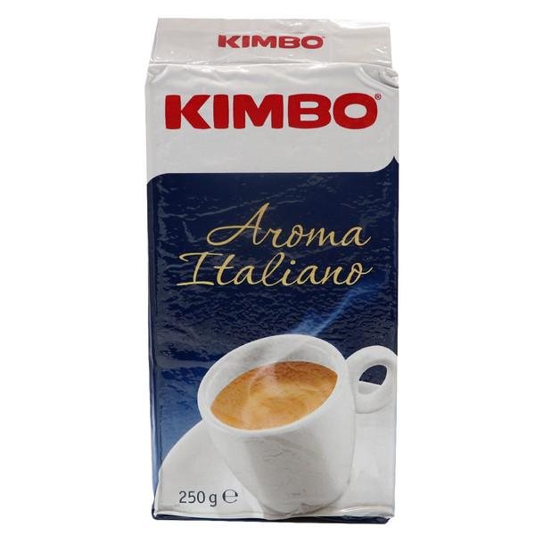 بسته قهوه کیمبو مدل Amoma italiano حجم 250 گرم