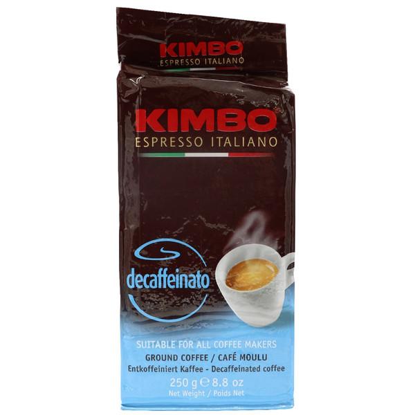 بسته قهوه کیمبو مدل Decaffeinato حجم 250 گرم